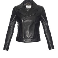 Leather biker jacket | Saint Laurent | MATCHESFASHION.COM US