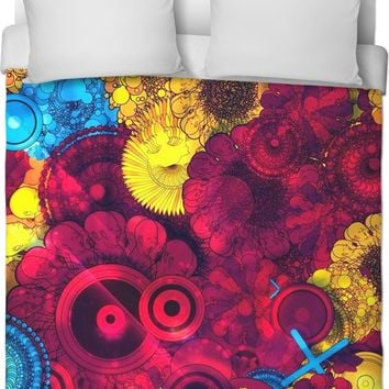Dawn of Life Duvet Cover by Simplee Hippie