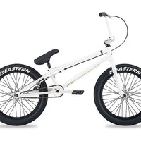 Eastern Element White/Gold Complete BMX Bike