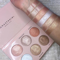 [SALE] Anastasia Breverly Hills 6 Color Matte EyeShadow Glow Kit