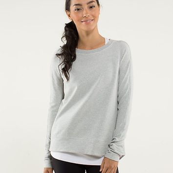 exhalation pullover | women's tops | lululemon athletica