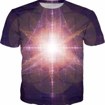 Star Seed of Life | Fractal Clothes | Rave & Festival Shirt