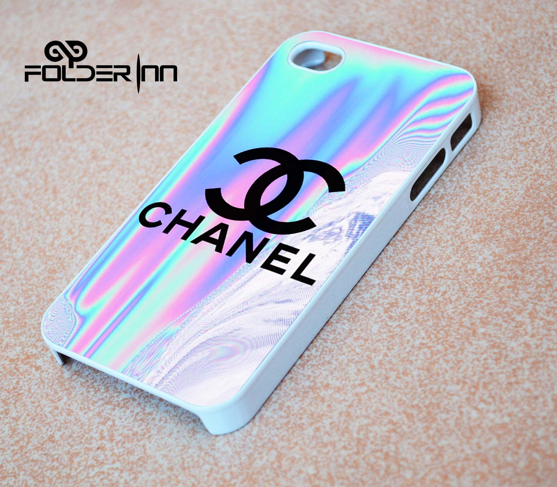 Chanel holographic iPhone 4s iphone 5 from folderinn.com