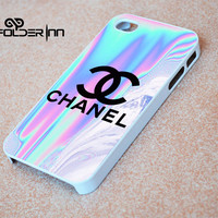 Chanel holographic iPhone 4s iphone 5 iphone 5s iphone 6 case, Samsung s3 samsung s4 samsung s5 note 3 note 4 case, iPod 4 5 Case