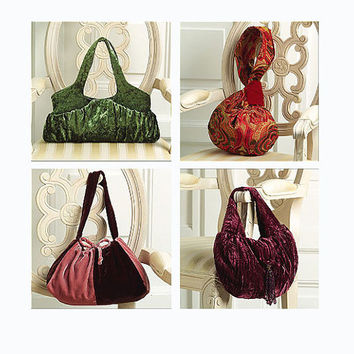 Vogue Accessories Lined Hand Bags Tote Bag Purse Boho Hobo Patterns