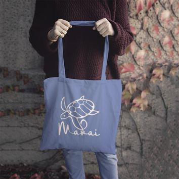 1a1b3075400d Makai Blue Ocean Recycled Tote Bag (1 FREE with any order on .