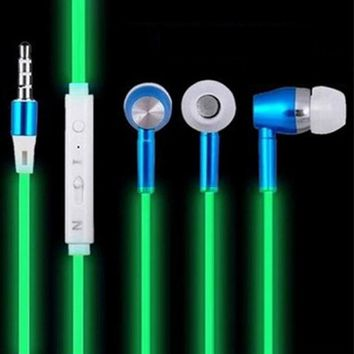 Glow In The Dark Earbuds