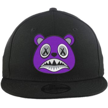 Purple Baws - New Era 9Fifty Black Snapback Hat