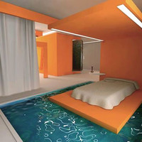 Bed With A Moat ? But how to get to it...?
