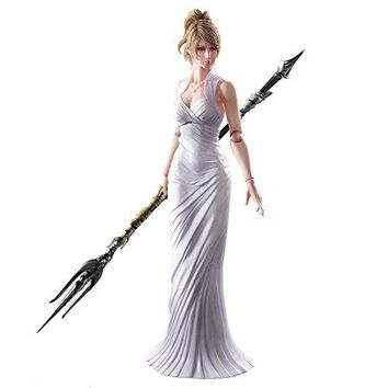 Square Enix Final Fantasy XV Lunafreya Nox Fleuret Play Arts Kai Action Figure