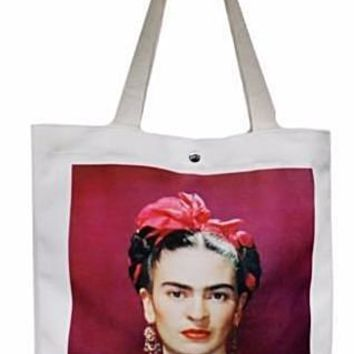 Pictures of You Frida Kahlo Shopping Tote Bag