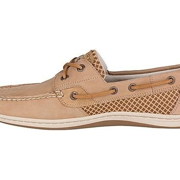 Koifish Etched Boat Shoe