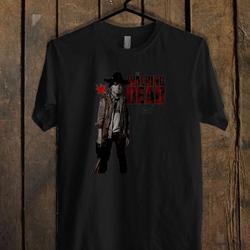 Chandler Riggs Carl Grimes The Walking T Shirt Mens T Shirt and Womens T Shirt **