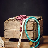 Found My Animal Womens Overdyed Rope Leash