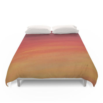 Society6 Sunset Duvet Cover