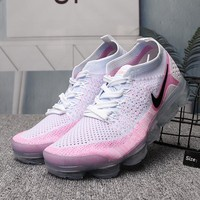 Nike Air VaporMax Flyknit Woman Men Fashion Running Sneakers Sport Shoes