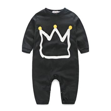 Infant Child Baby Romper Climbing Clothes Girls Boys Clothing Comfortable Cotton BABY Clothes Head Suits The Climb Clothes