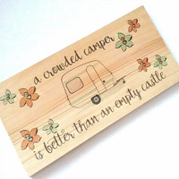 Camper sign-Camper decor-Camping sign-Rv decor-Travel trailer decor-Rv wall decoration-Glamping decor-Rv decoration-Gift for camper
