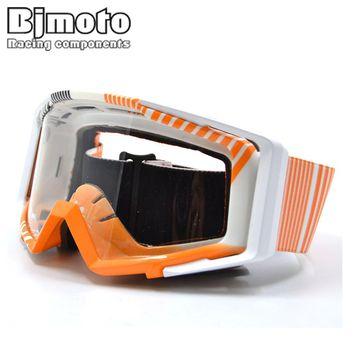 BJMOTO Motorcycle Glasses Snowboarding Outdoor Sport Goggles Eyewear Gafas Motocross Goggles Glasses Racing Cycling For Helmet