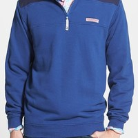 Men's Vineyard Vines Classic Fit French Terry Quarter Zip Pullover