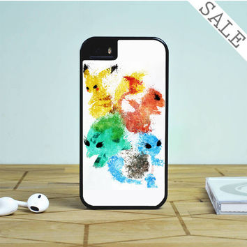 Pikachu painting pokemon For iPhone | Samsung Galaxy | HTC Case