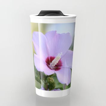 Au Naturale Travel Mug by Theresa Campbell D'August Art