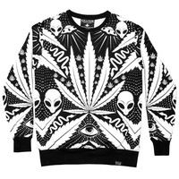 Space Grass Sweatshirt [B]