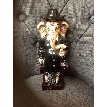 Ganesh god in lawyer outfit