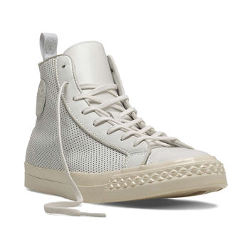 Perforated Rambler Hi in White