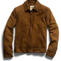 Brown Nubuck Jacket