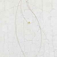 Open Square High/Low Necklace