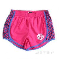 Monogram Running Shorts | Marleylilly