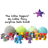 "Little Dippers"" My Little Pony surprise bath bomb"
