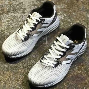 Adidas Aerobounce st m men's and women's tide brand fashion leisure wild fashionable sneakers F-CSXY white+khaki