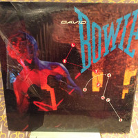 Sealed Vintage Vinyl LP David Bowie - Let's Dance Record Album - China Girl