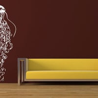 Wall Decal Vinyl Sticker Decals Art Decor Jellyfish Animals Water Sea ( r16)