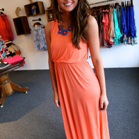 Headed To The Islands Maxi {Tangerine}