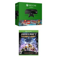 Xbox One 500GB Console - The LEGO Movie Bundle + Minecraft: Story Mode - Season Disc
