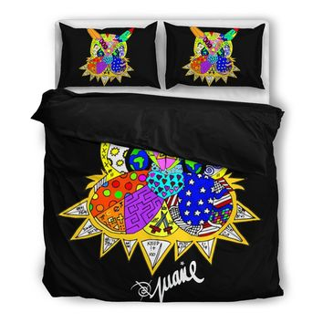Juanie Art Inspired Duvet Bedding Set