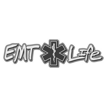 EMT Life Vinyl Window Decal Sticker
