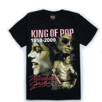 King Of Pop Michael Jackson T-Shirt