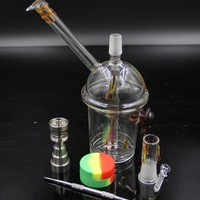 Cheech Glass Honey Cup glass bong 3 types dabber oil rig Dabuccino Evol glass bongs dome nail hookah Hookah water filter pipe bong