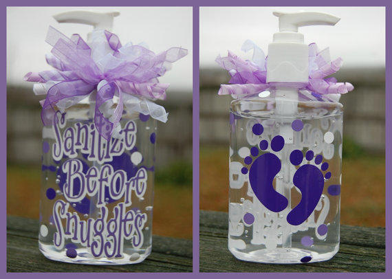 Sanitize Before Snuggles Hand Sanitizer From