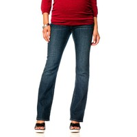 Oh Baby by Motherhood Mid-Belly Bootcut Jeans - Maternity, Size: