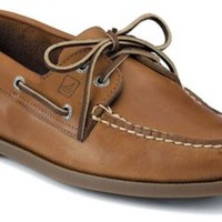 Sperry Top-Sider Authentic Original 2-Eye Boat Shoe SaharaLeather, Size 10.5W  Men's Shoes