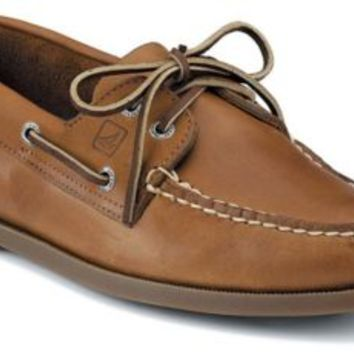Sperry Top-Sider Authentic Original 2-Eye Boat Shoe SaharaLeather, Size 9.5W  Men's Shoes