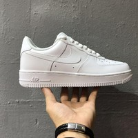 Originals Nike Air Force One 1 Classic Low All White Shoes AF1  07 315122- 8306a9496