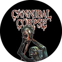 Cannibal Corpse Button - Severed Head