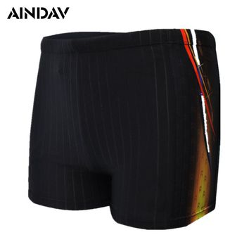 New Arrival Racing Swimwear Mens Swim Boxer Briefs Swimming Suit Beach Board Swim Trunk Swimming Shorts for Men Plus Size XXXXL