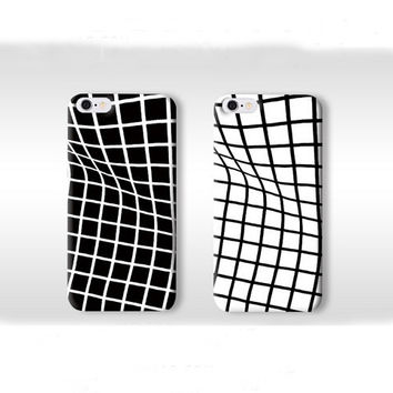Twisted Grid Iphone 6 Plus 5s Cases
